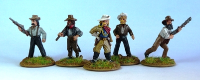 Civils pour Legends of the Old West