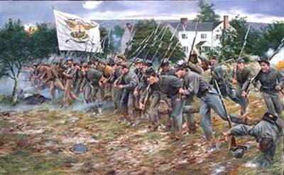 New Market, 15 mai 1864 - Les cadets donnent l'assaut (scénario) dans Billy Yank lescadetsduvmi
