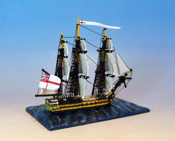 HMS-Leander dans Trafalgar