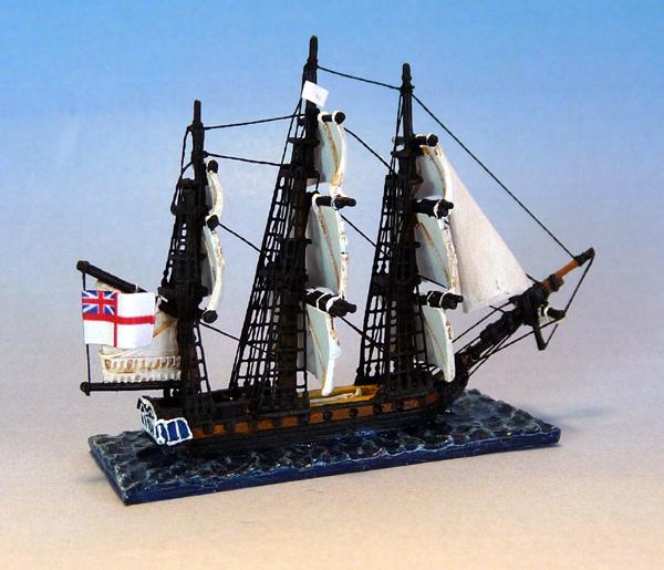 Début de Flotte Anglaise dans Trafalgar HMS-Mutine