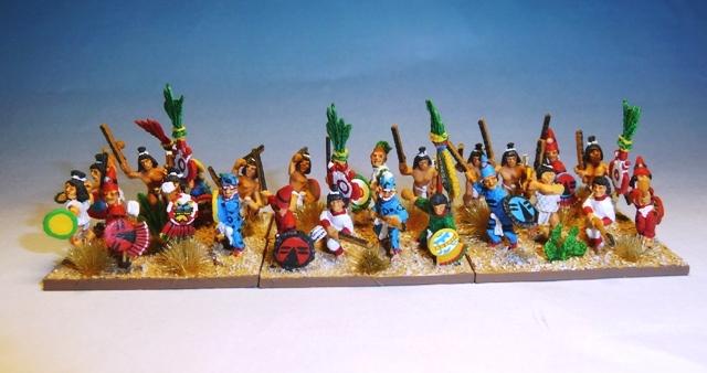 Aztèques dans Field of Glory Telpochcalli
