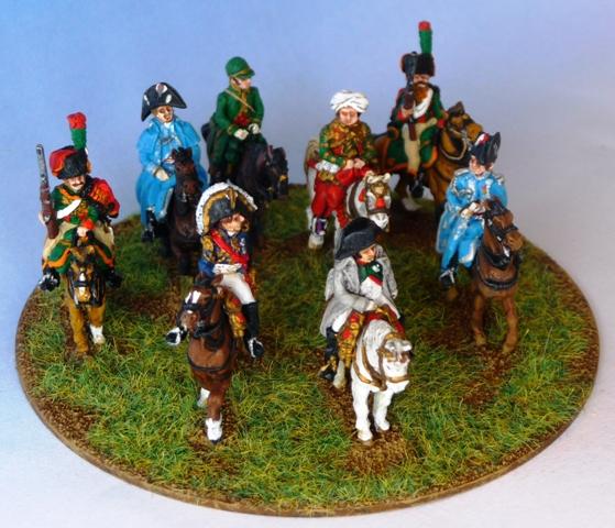 Etat-Major de Napoléon dans Vive l'Empereur napoleon-abminiatures-3